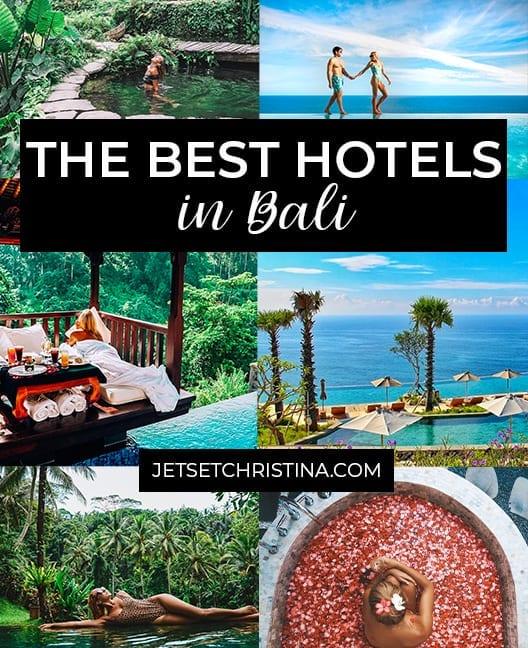 The Best Hotels In Bali Where To Stay In Ubud Uluwatu